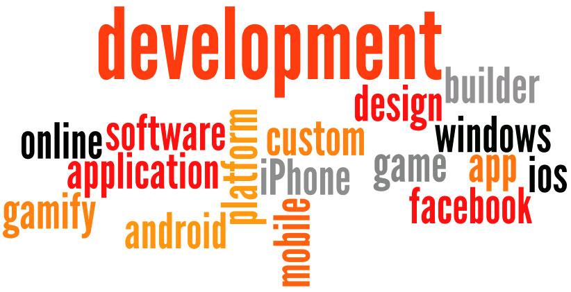 android facebook iPhone mobile game app development software platform ios design builder windows development custom online application gamify
